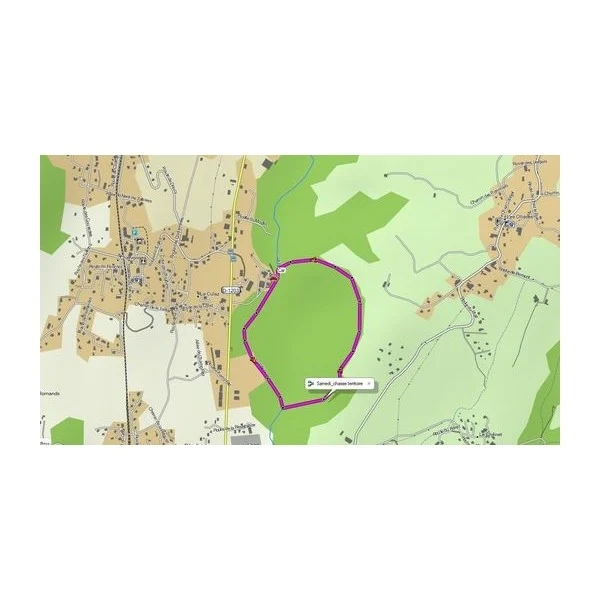 Garmin HuntView France, Centre-Est - Carte microSD/SD