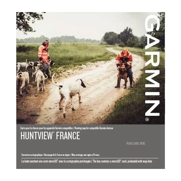 Garmin HuntView France - Carte microSD/SD