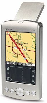 gps pda ique 3200 palm os