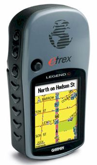 gps garmin etrex legend color