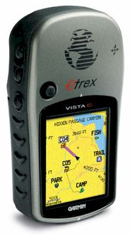 gps garmin etrex vista color